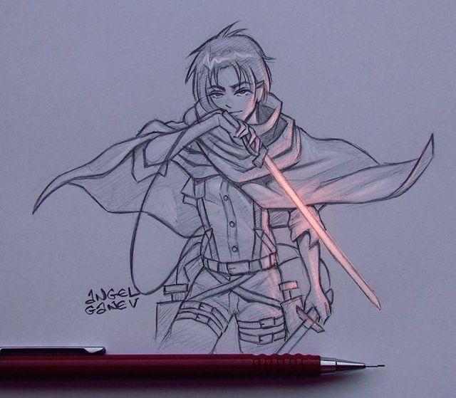 Сяючі ілюстрації олівцем - фото 282898