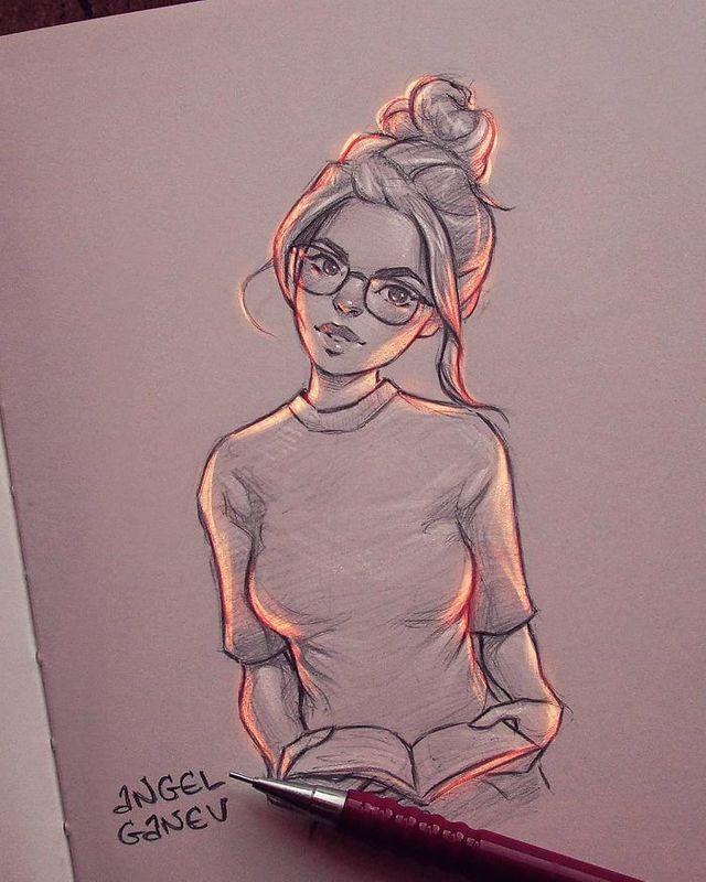 Сяючі ілюстрації олівцем - фото 282899